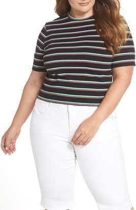 BP Stripe Crop Tee