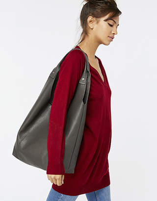 Accessorize Lucy Leather Hobo Bag