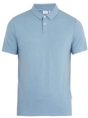 Onia Alec slub-jersey polo shirt
