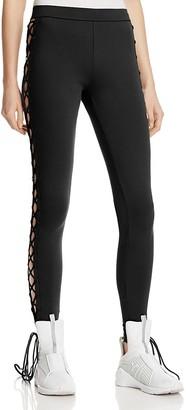 FENTY Puma x Rihanna Lace-Up Leggings $140 thestylecure.com