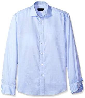 Bugatchi Men's Donatello Long Sleeve Tonal Button Down Shirt