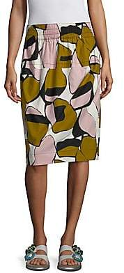 Marc Jacobs Women's Cotton Printed Skirt