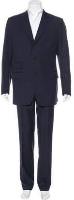 Tom Ford Wool Peak-Lapel Suit
