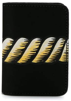 À La Garçonne rope print wallet
