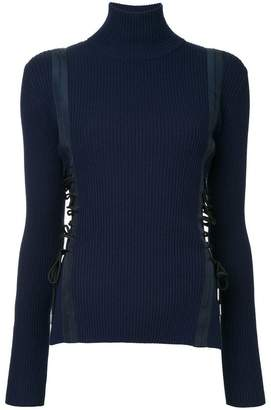 Dion Lee Aviation Laced jumper