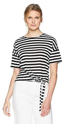 Vero Moda Women's Nia Short Sleeve Stripe Tee