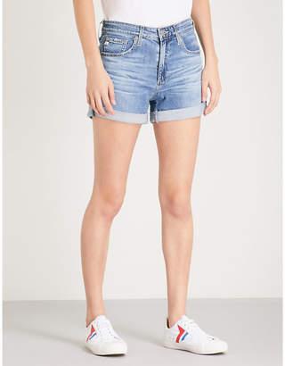 AG Jeans Hailey Ex-Boyfriend high-rise denim shorts