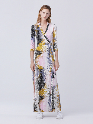Abigail Maxi Wrap Dress $598 thestylecure.com