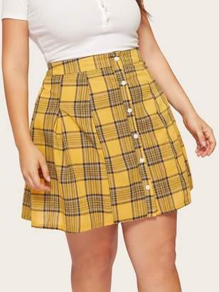 349b29621 Plus Size Yellow Skirt - ShopStyle