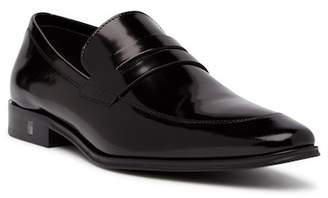Versace Leather Penny Loafer