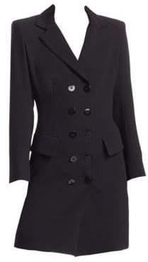Nanette Lepore Women's Dynamic Coat Dress - Black - Size 0