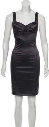 Galliano Sleeveless Bodycon Dress