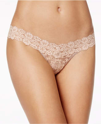 09237c309d5 Hanky Panky Cross-Dyed Low Rise Lace Thong 591054