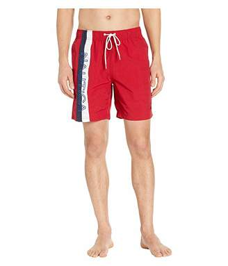 Nautica Surf Washed Color Block Swim Trunks