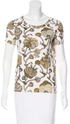 Gucci Cashmere Printed Top