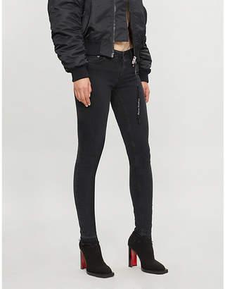 Maje Skinny low-rise jeans