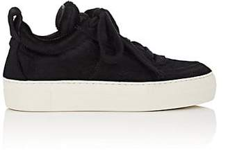 Helmut Lang WOMEN'S PADDED FUR SNEAKERS
