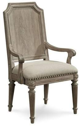 Salvage A.R.T. Furniture Arch Mills Arm Chairs, Parchment