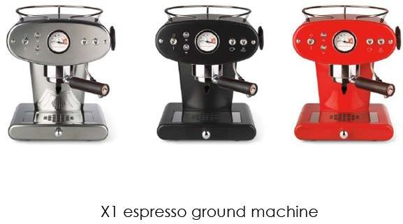 FrancisFrancis! - francisfrancis! X1 ground espresso machines