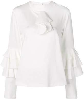 Milla ruffled blouse