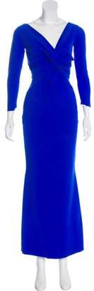 Chiara Boni Long Sleeve Evening Dress