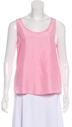 Theory Silk Sleeveless Top