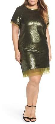 ELVI Sequin Mini Dress