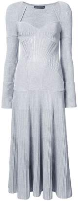 Alexander McQueen long knit dress