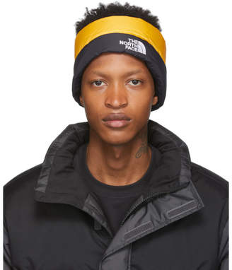 The North Face Yellow Down Nuptse Headband
