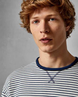 Ted Baker SHERBUT Long sleeved striped T-shirt