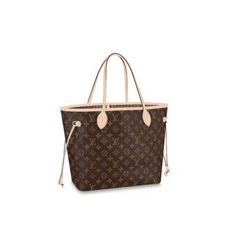 422b76cb11c3 Louis Vuitton Neverfull GM Monogram Canvas Handbag Shoulder Bag Tote Purse