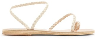 Ancient Greek Sandals Eleftheria Braided Leather Sandals - Womens - White
