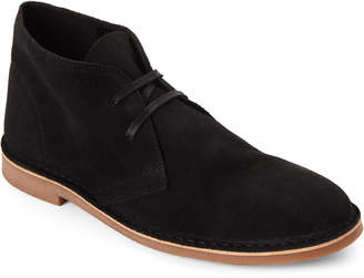 Supply Lab Black Suede Beau Chukka Boots