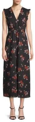 Rebecca Taylor Marguerite Floral Midi Dress