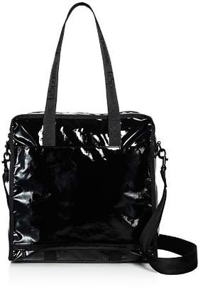 Le Sport Sac Gabrielle Medium Shiny Nylon Box Tote
