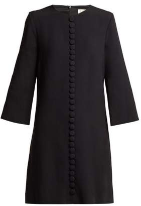 Goat Houston Cady Tunic Dress - Womens - Black