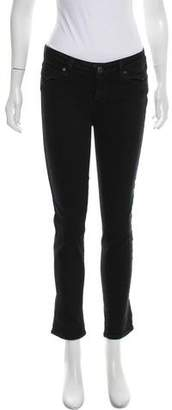 Paige Mid-Rise Skinny Jeans