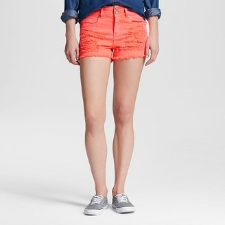 Dollhouse Women's High Waisted Frayed Jean Shorts-Dollhouse (Juniors') $24.99 thestylecure.com