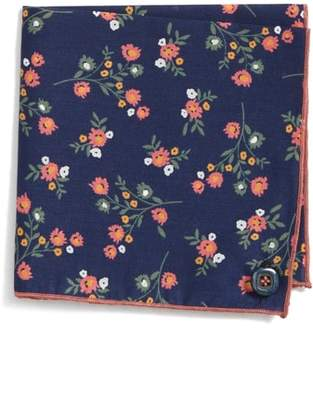 Wilson Armstrong & Baby Rose Cotton Pocket Square