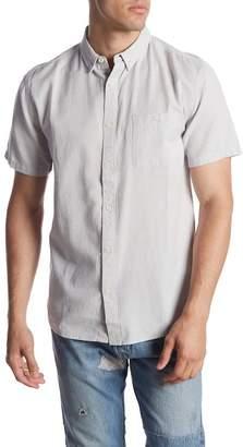 Quiksilver Waterfall Short Sleeve Modern Fit Shirt