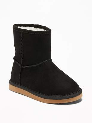 Old Navy Sueded Boots for Toddler Girls