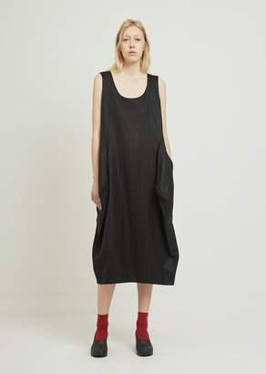 Comme des Garcons Dobby Stripe Dress