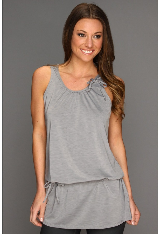 Tail Activewear - Mantra Cinched Yoga Tank (Gray) - Apparel