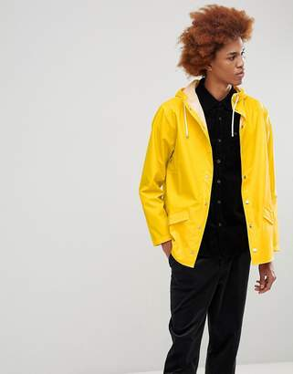 Rains 1201 Jacket In Yellow