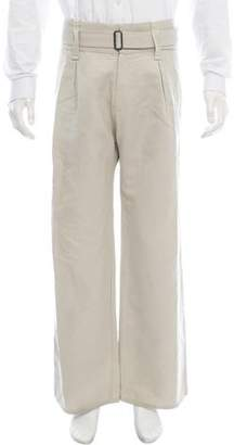 Bottega Veneta High-Waisted Belted Pants