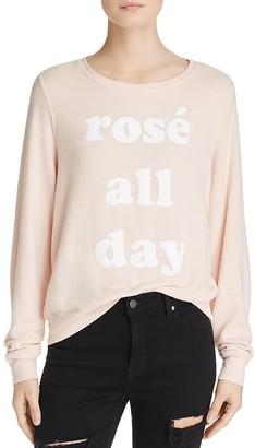Dream Scene Rosé All Day Pullover $64 thestylecure.com