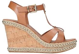 Carvela Karoline T-Bar Wedge Heel Sandals