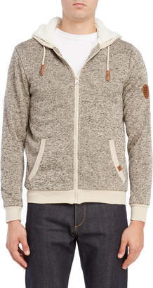 Buffalo David Bitton Zip Front Hooded Sweatshirt