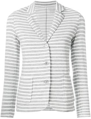 Majestic Filatures striped fitted blazer