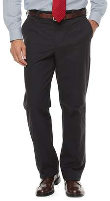 Croft & Barrow Big & Tall Classic-Fit Stretch Flannel-Lined Chino Pants